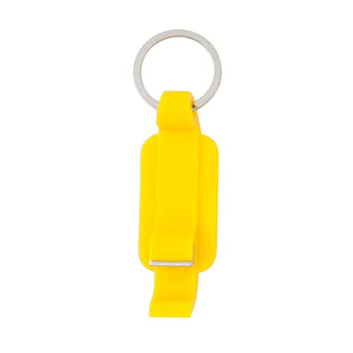 Keychain opener with body in varied and bright tones