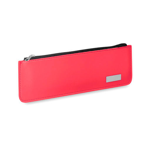 Zipper case with soft body in PU leather