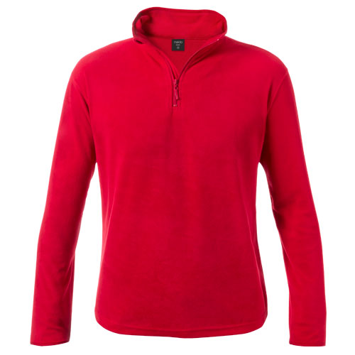 Jacket in warm and soft micro polar fleece of 155g/m2, with anti-pilling treatment