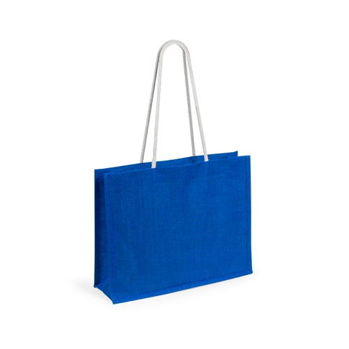 Jute bag in a wide range of vivid colors
