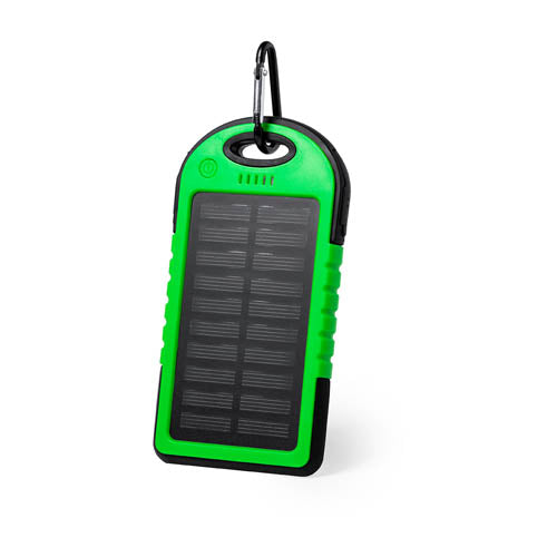 4,000 mAh, high charging capacity and resistant external auxiliary battery for solar recharging