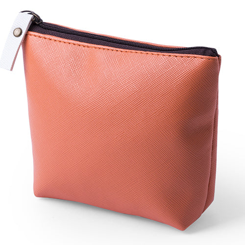 Coin purse holder in an original design with soft body in shiny PVC in a wide range of bright tones