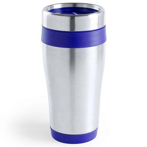 450ml stainless steel cup with glossy finish and matching color accessories in bright tones