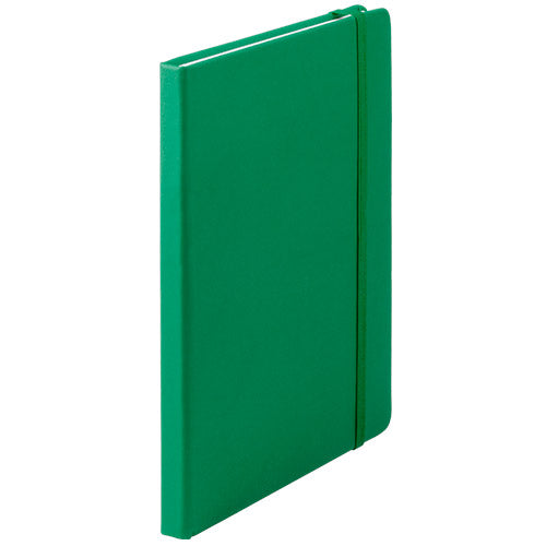 Notepad with soft-touch covers, in PU leather and in bold colors