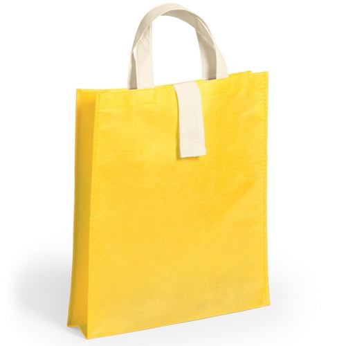Folding non-woven bag in 80g/m2 in a varied range of bright tones