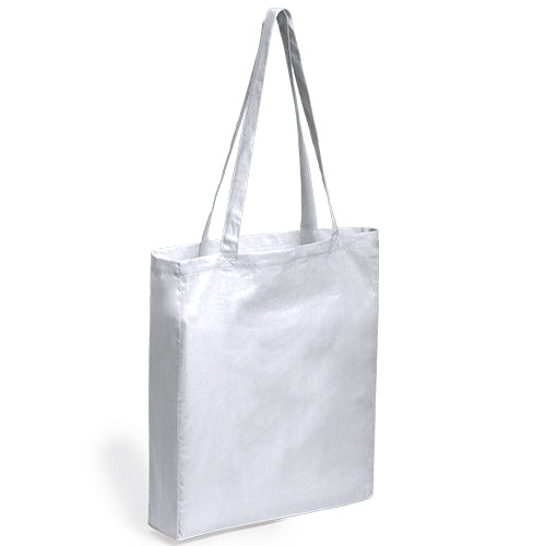 Bag in 100% cotton material in a varied range of bright tones