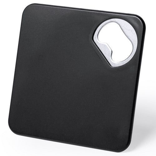 Original coasters with built-in metal opener in a wide range of bright tones