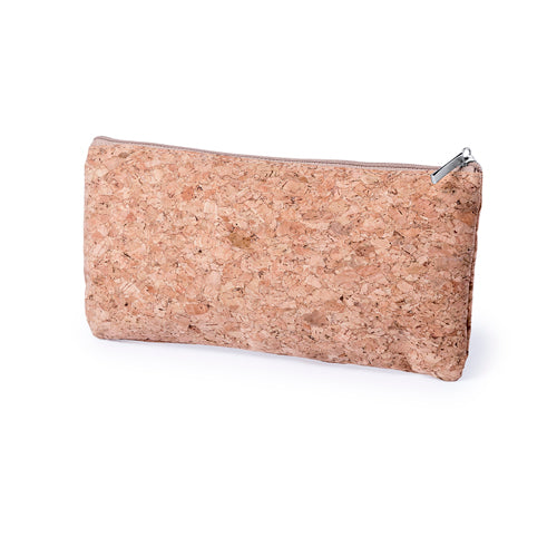 Nature line pencil case in natural cork