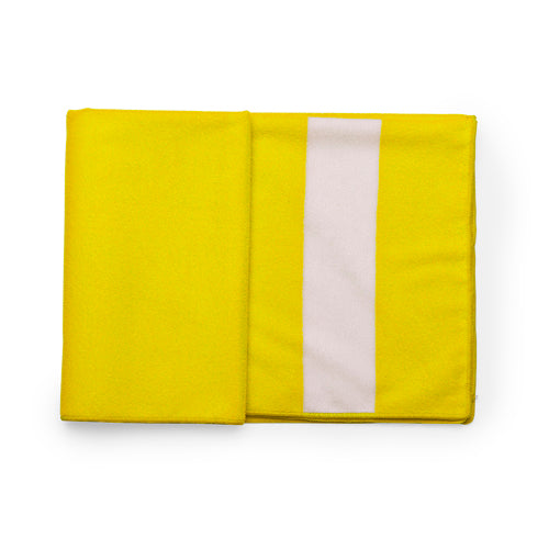 Absorbent microfibre towel in XL size -75x150cm- and 260g/m2-