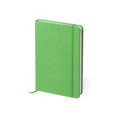 Notepad with covers in soft polyester