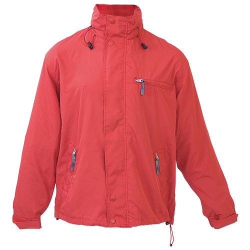 Parka in soft and resistant combination of nylon and microfiber materials in vivid colors