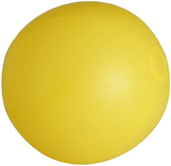 PVC inflatable balloon in a varied range of bright tones