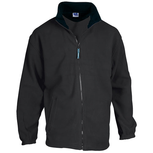 Jacket in warm and soft polar fleece of 280g/m2, with anti-pilling treatment