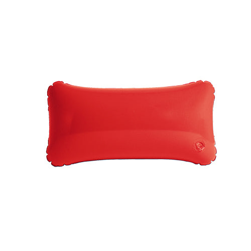 Inflatable pillow in resistant PVC and bright tones