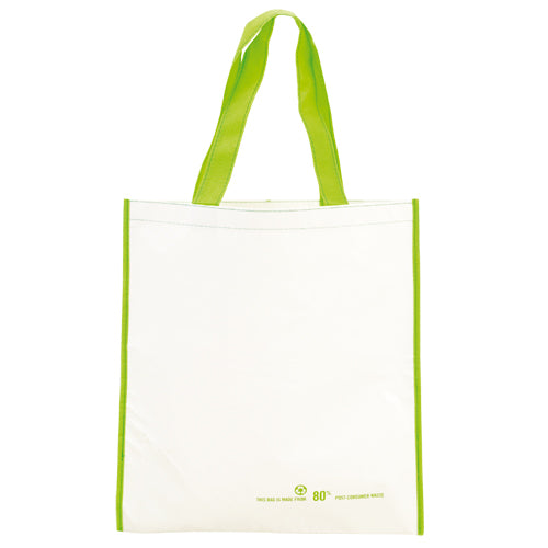 Bag in resistant recycled PET material in a wide range of bright tones
