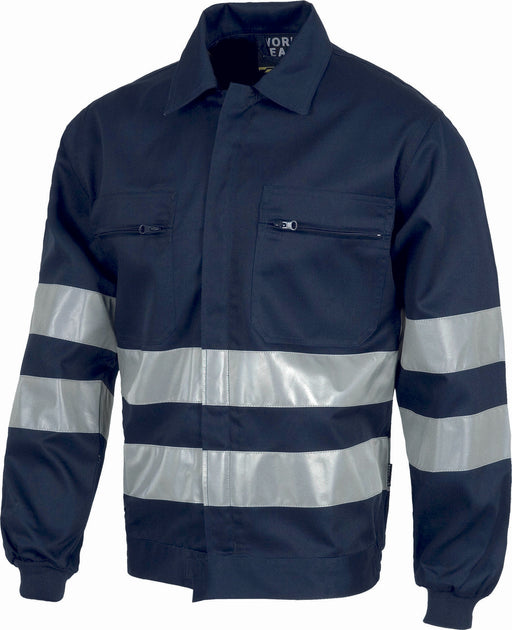 Jacket with high Visibility Stripes (EU Compliant)