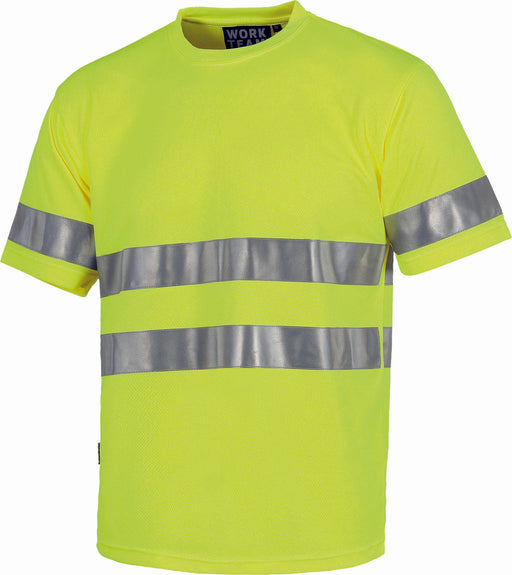 T Shirts with high Visibility Stripes (EU Compliant)