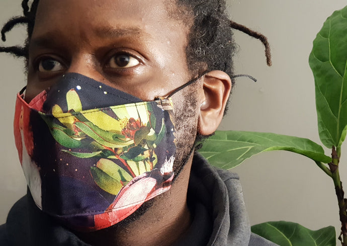 Reusable Face Mask - Flamboy Print