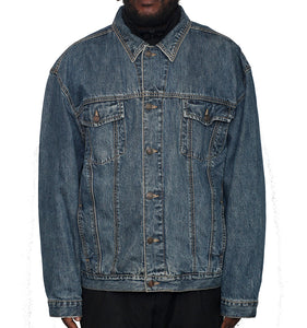 Hotel Feels Upcycled Denim Jacket XXL