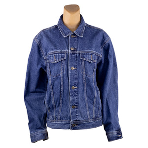 Swim Good Upcycled Denim Jacket L