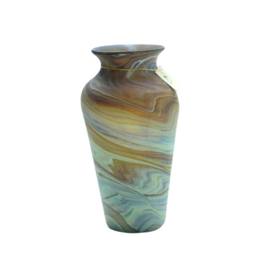 Glass Vase Hand Blown Hebron Glass Phoenician