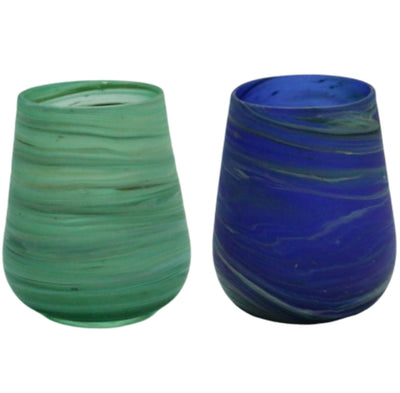 hebron glass tumbler