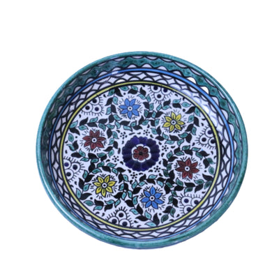 palestinian Large Ceramic serving Bowl