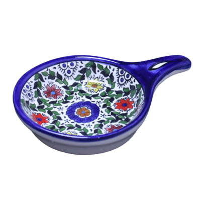 palestinian Ceramic Spoon Rest