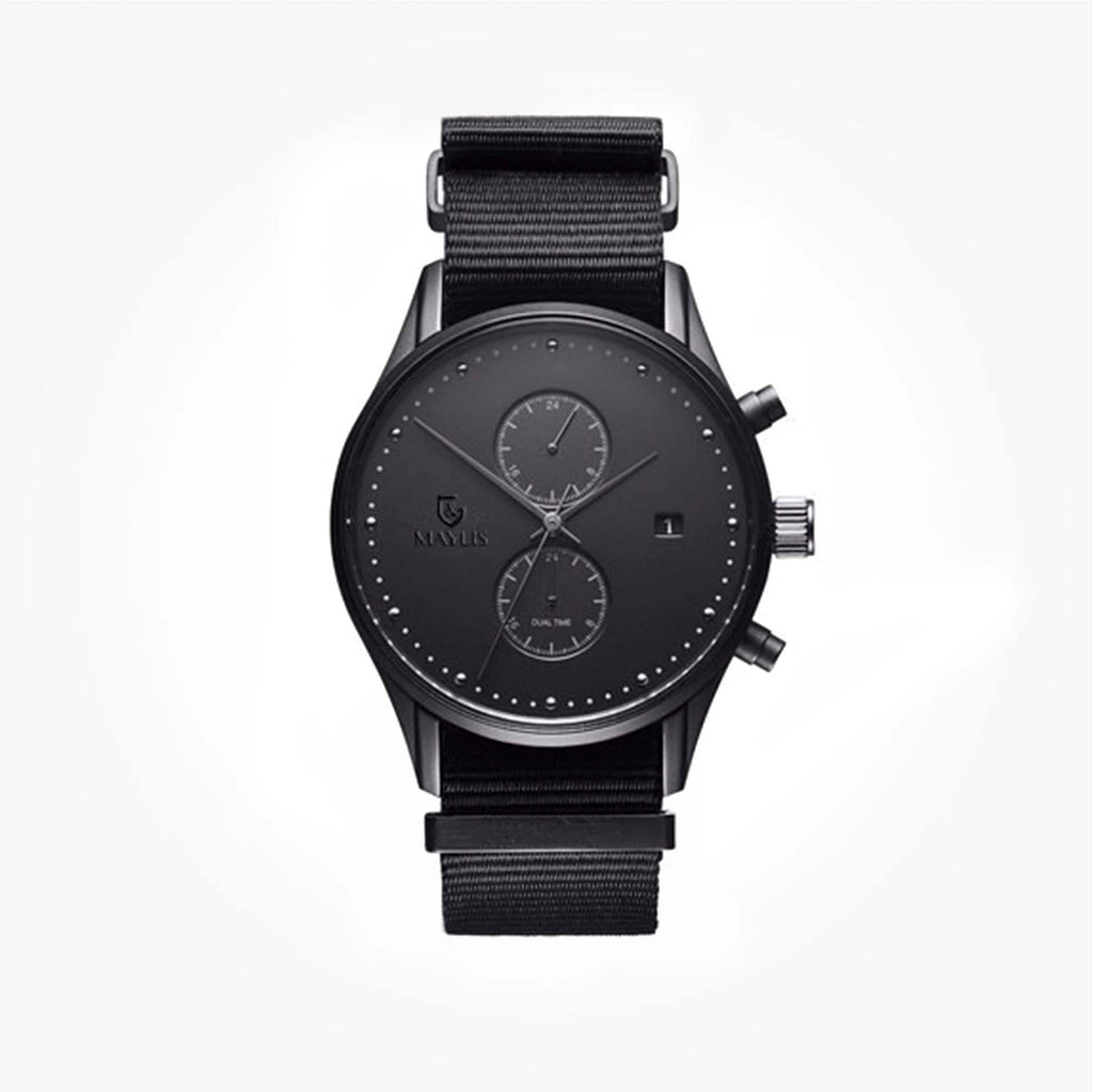Crono Grove 42mm Black Nylon strap