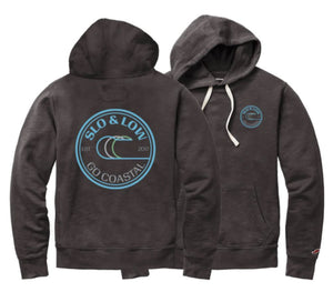 Pipeline Hoodie / Weathered Navy