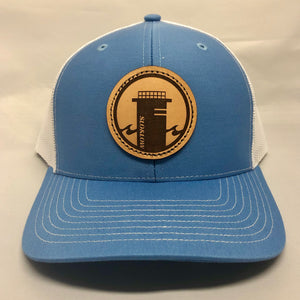 Tower One Trucker - Sky Blue / White