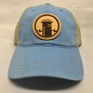 Tower One Trucker (Relaxed) - Sky Blue / Khaki