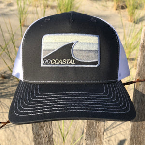 Sol Wave Trucker - Silver / Charcoal / White
