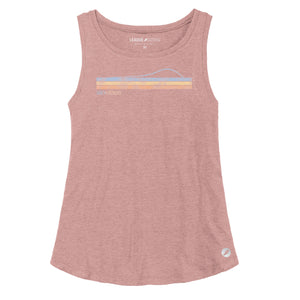 SLO VIBES Retro Tank / Rose