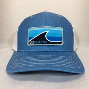 Sol Wave Trucker - Aqua / Sky / White