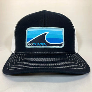 Sol Wave Trucker - Aqua / Navy / White