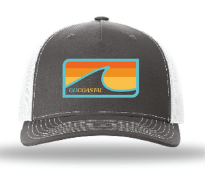 Sol Wave Trucker - Teal / Charcoal / White
