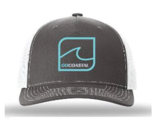 One Wave Trucker - Teal / Charcoal / White