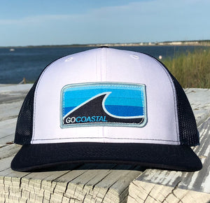 Sol Wave Trucker - Aqua / White / Navy