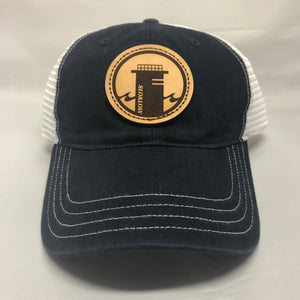 Tower One Trucker (Relaxed) - Navy / White