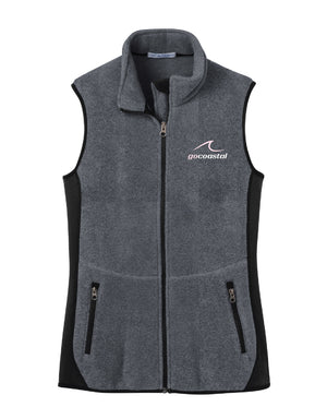 Women's Sherpa Fleece Vest (Wave)
