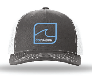 One Wave Trucker - Sky Blue / Charcoal / White