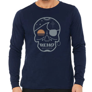 Surf Pirate Tee - Navy