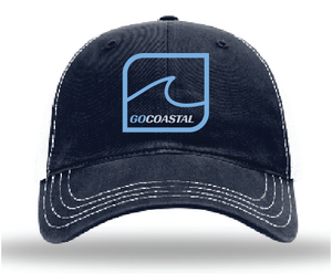 One Wave Relaxed Trucker - Sky Blue / Navy / White