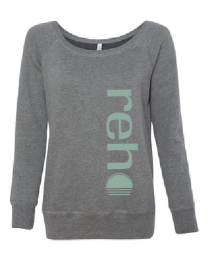 Reho Scoop Neck Sweatshirt / Deep Heather
