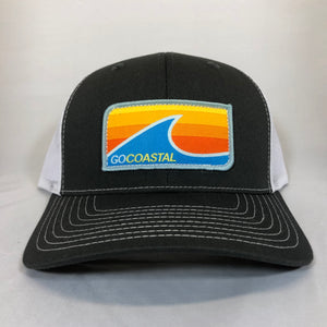 Sol Wave Trucker - Orange / Charcoal / White