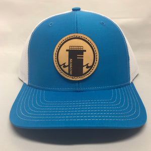 Tower One Trucker - Cyan / White