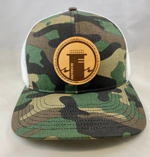 Tower One Trucker - Camo / White