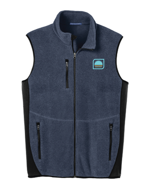 Men's Sherpa Fleece Vest (Sun)