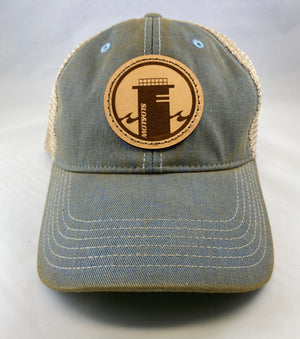 Tower One Trucker (Relaxed Fit) - Sky Blue / Khaki